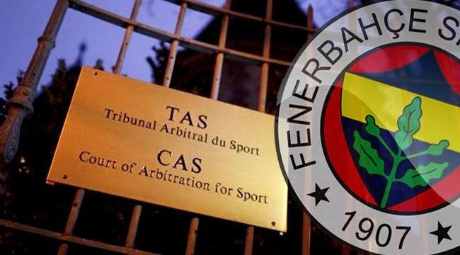 Fenerbahçe'ye CAS piyangosu vurdu!