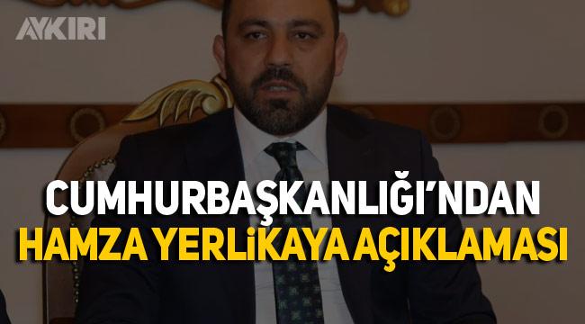 Fuat Oktay'dan Hamza Yerlikaya açıklaması