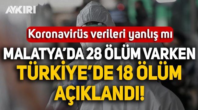İYİ Partili Aytun Çıray'dan koronavirüs verileri için flaş iddia: Ölüm sayısı yanlış veriliyor!