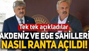 İYİ Partili Ergun ve Yaşar, Akdeniz ve Ege sahillerinin nasıl ranta açıldığını açıkladı