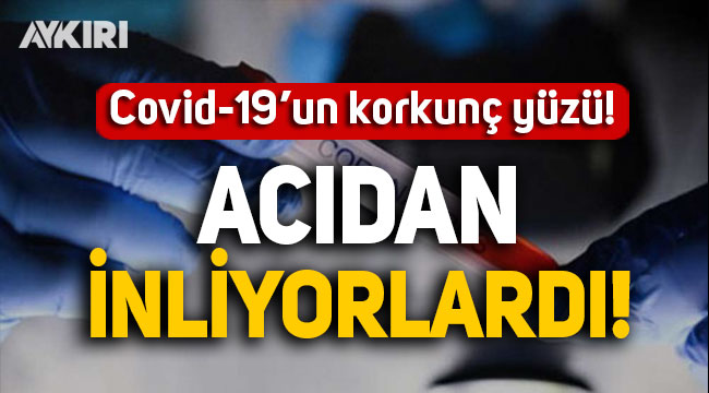 Koronavirüse yakalanan gazeteci Avşar, virüsün korkunç yüzünü anlattı: Acıdan inliyorlardı!