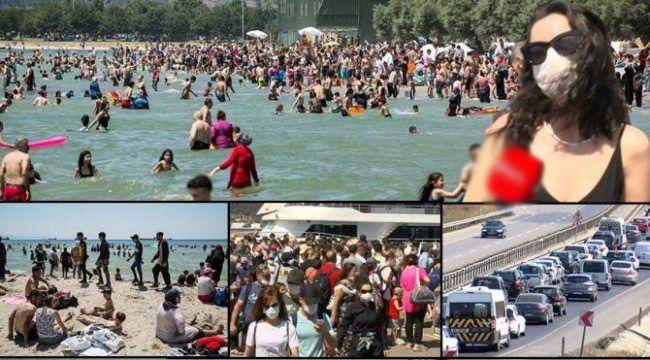 Kurban bayramı korona bayramına dönüştü: İstanbul sahillerinde şok görüntüler