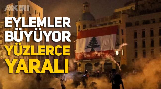 Lübnan'da protestolar büyüyor, halk hükümeti suçluyor