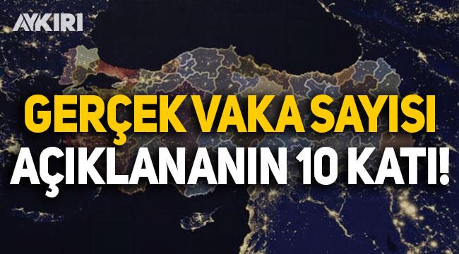 Mehmet Ceyhan'dan flaş açıklama: Gerçek vaka sayısı açıklananın 10 katı!