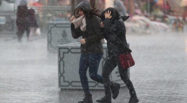 Meteoroji'den yağış uyarısı