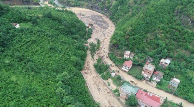 Meteoroloji'den Rize, Artvin ve Trabzon'a sel ve baskın uyarısı
