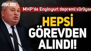 MHP'de Cemal Enginyurt depremi sürüyor: Hepsi görevden alındı
