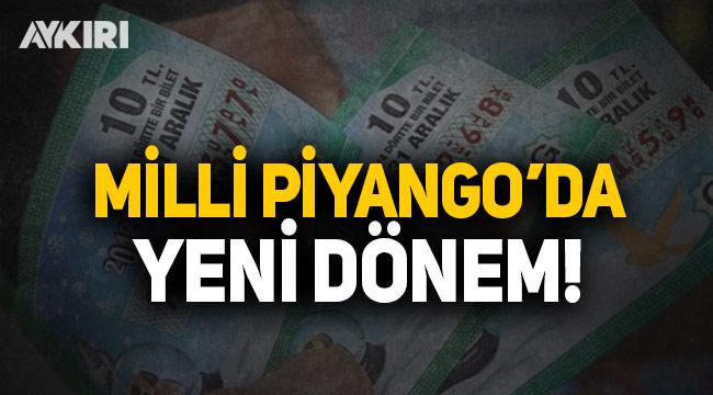 Milli Piyango'da yeni dönem başlıyor