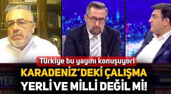Necdet Pamir: Karadeniz'deki Sondaj çalışmasına milli diyemezsiniz