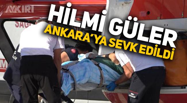 Ordu Büyükşehir Belediye Başkanı Hilmi Güler kaza geçirdi, son durumu