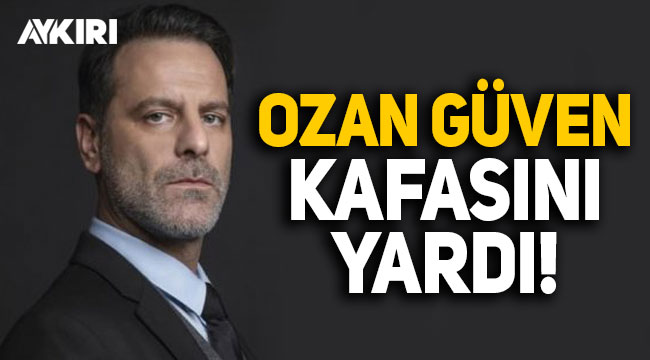 Ozan Güven, evinde kaza geçirdi, kafasını yardı