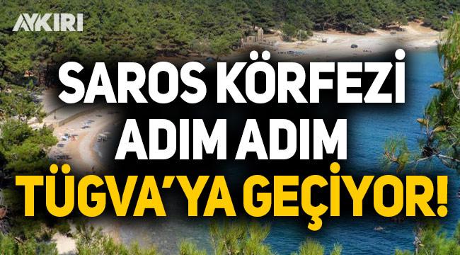 Saros Körfezi adım adım TÜGVA'ya geçiyor!