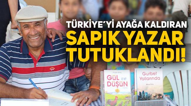 Son dakika haberi, Gül ve Düşün kitabındaki skandal ifadelerinden dolayı Musa Dinç'in tutuklanmasına karar verildi