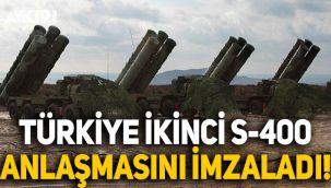 Türkiye, Rusya ile S-400 sevkiyatına yönelik ikinci anlaşmayı imzadı