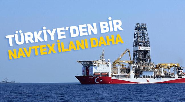Türkiye, Yavuz gemisi için de NAVTEX ilan etti