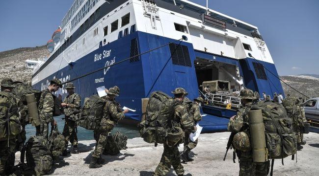 Yunanistan, Meis Adası'na asker indirdi!