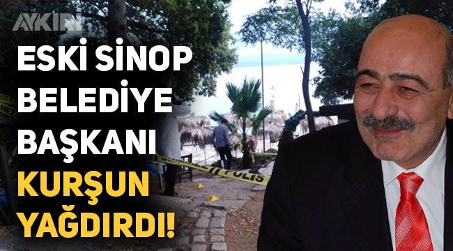 AK Partili Sinop eski belediye başkanı Zeki Yılmazer bir kişiyi silahla vurdu