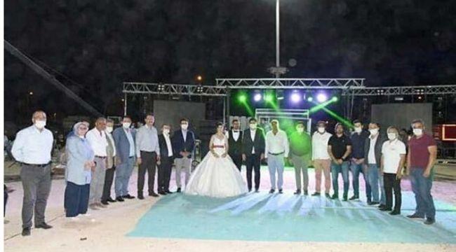AKP Gençlik Kolları Başkanı'nın düğününde salgın uyarısı yapan polise sürgün cezası
