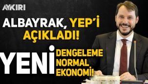 Albayrak, 'Yeni Ekonomi Programı'nı açıkladı: Yeni dengelenme, normal, ekonomi