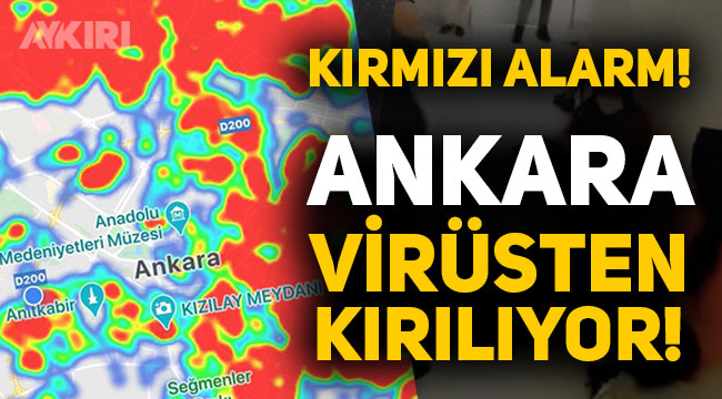 Ankara'da kırmızı alarm, virüs her yarı sardı, hastanelerde yer kalmadı