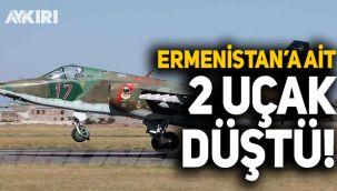 Azerbaycan, Ermenistan'a ait iki savaş uçağının düştüğünü açıkladı!