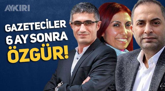 Barış Pehlivan, Hülya Kılınç ve Murat Ağırel için tahliye kararı verildi