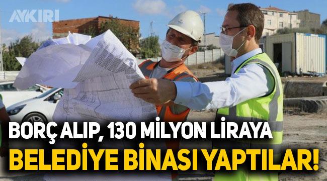 Başakşehir Belediyesi'ne bütçe yetmedi, borç alıp 130 milyon TL'ye belediye binasını yenilediler