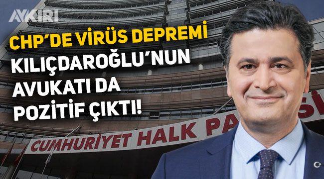 CHP Genel Merkezi'nde bir virüs şoku daha, genel başkanın avukatı Celal Çelik de pozitif çıktı
