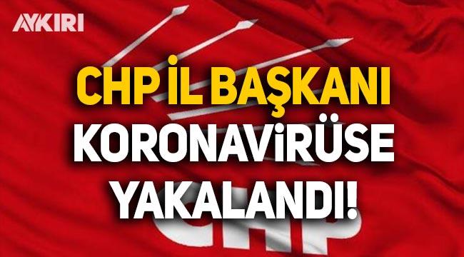 CHP Kastamonu İl Başkanı koronavirüse yakalandı