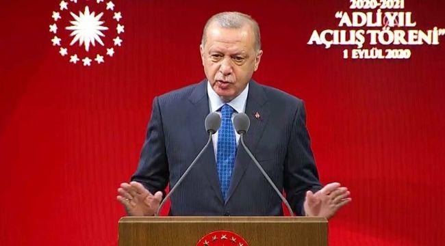Cumhurbaşkanı'ndan İstanbul Barosu'na 'Ebru Timtik' pankartı tepkisi