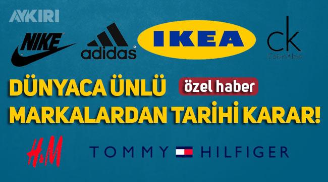 Dünyaca ünlü markalar, Çin'in insanlık dışı uygulamalarından dolayı Doğu Türkistan'dan pamuk almayı durdurdu!