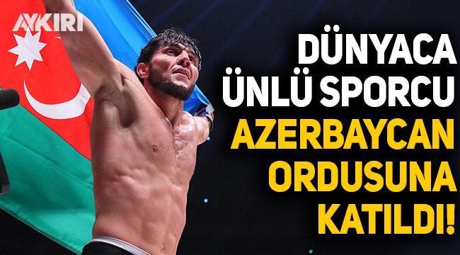 Dünyaca ünlü sporcu Tofiq Musayev Azerbaycan ordusuna katıldı