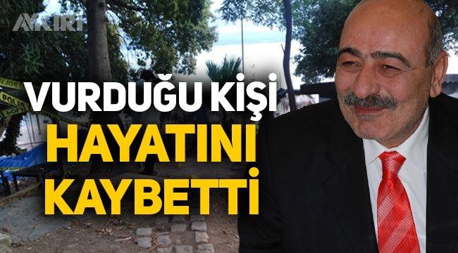 Eski AKP Sinop Belediye Başkanı Zeki Yılmazer'in vurduğu kişi hayatını kaybetti