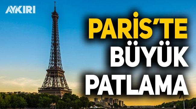Fransa'nın başkenti Paris'te büyük patlama