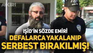 IŞİD'in Türkiye sorumlusu daha önce de yakalanıp serbest bırakılmış