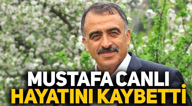 İSTAÇ Genel Müdürü Mustafa Canlı, koronavirüs nedeniyle hayatını kaybetti