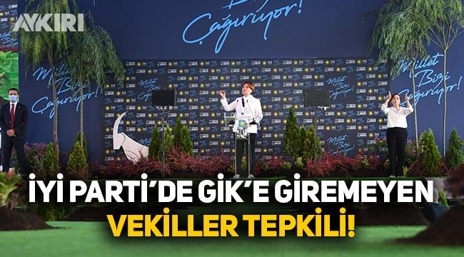 İYİ Parti'de liste dışı milletvekilleri tepkili