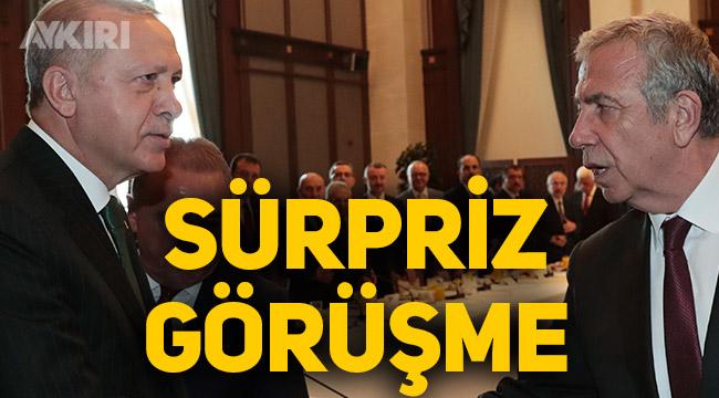 Mansur Yavaş, Cumhurbaşkanı Erdoğan ile görüşecek