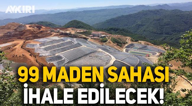MAPEG tarafından 99 maden sahası ihale edilecek