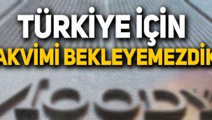Moody's, Türkiye'nin kredi notunu neden takvim dışı açıkladı