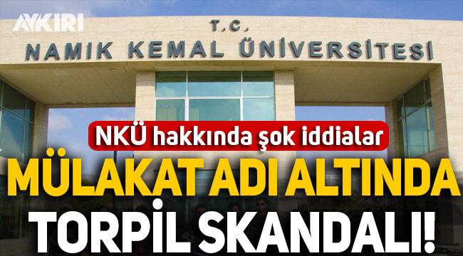Namık Kemal Üniversitesi yüksek lisans sonuçları tartışma yarattı, sınava giren kişiden şok iddialar