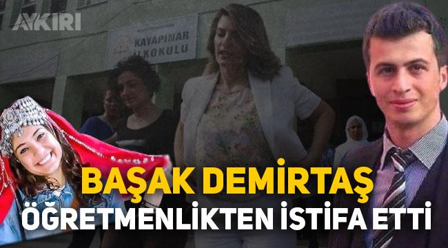 Selahattin Demirtaş'ın eşi öğretmenlik görevinden istifa etti