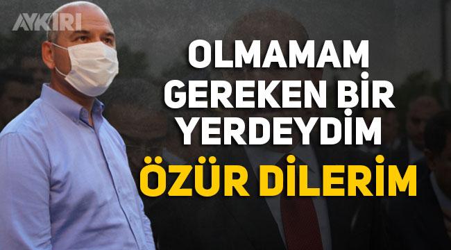 Süleyman Soylu'dan vatandaşa kinayeli özür