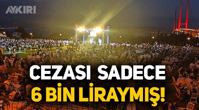 Yasak tanımayan AK Partili vekilin düğüne en üst limitten ceza verildi; Sadece 6 bin lira!