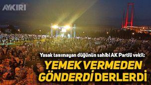 Yasak tanımayan düğünün sahibi AK Partili Cemil Yaman: