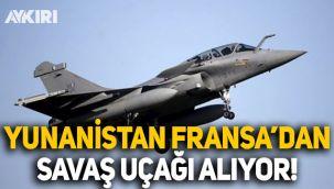 Yunanistan, Fransa'dan 18 savaş uçağı alıyor