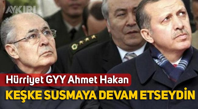 """Ahmet Hakan'dan Ahmet Necdet Sezer yazısı: """"Ergenekon da bile sustun şimdi mi konuşmak aklına geldi"""""""