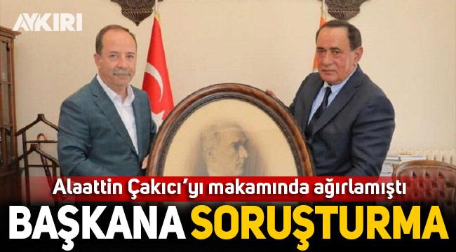 Alaattin Çakıcı'yı makamında ağırlayan Belediye Başkanı hakkında CHP'den soruşturma!