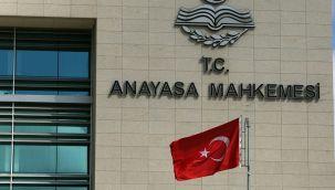 Anayasa Mahkemesi'nden olağanüstü toplantı kararı