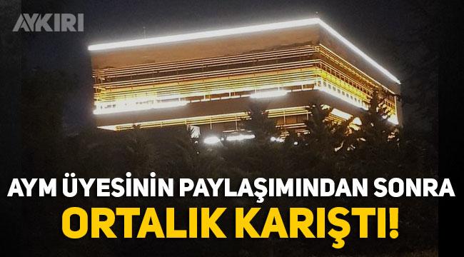 """AYM üyesi Engin Yıldırım'ın """"Işıklar yanıyor"""" tweeti sonrası ortalık karıştı, İçişleri Bakanlığı resmi hesaptan yanıt verdi, AK Parti'den darbe çıkışı!"""